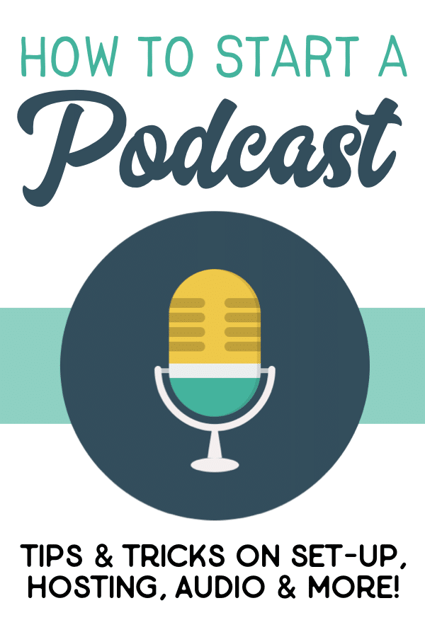 This guide will provide you with tips and tricks on how to start your own podcast. In this guide, I'm sharing my recommendations for everything from audio equipment and recording software to set-up and hosting options. Everything you need to get set up quickly and easily! #podcast