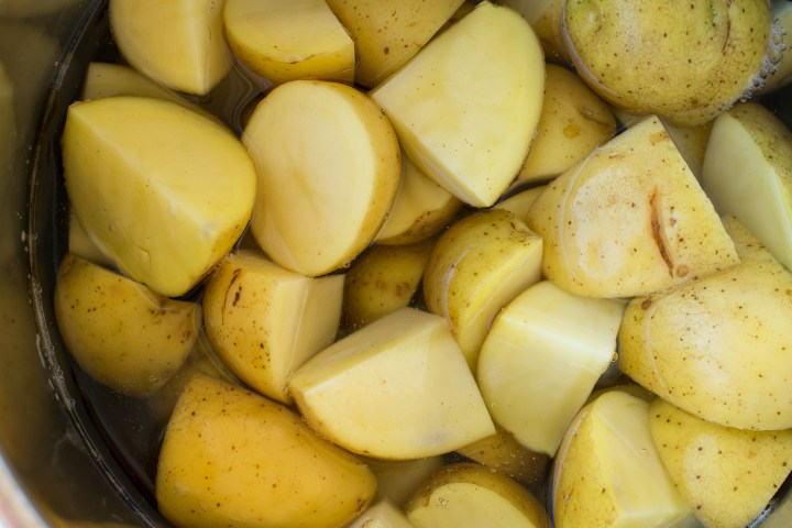 Yukon Gold Potatoes in the Instant Pot