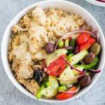 greek bowls with tahini