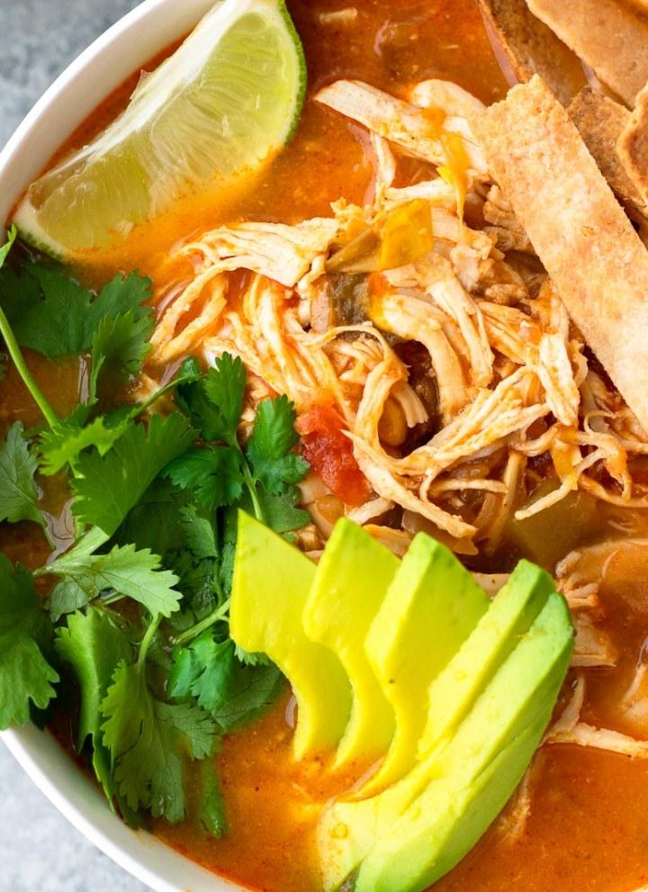 whole30 compliant chicken tortilla soup