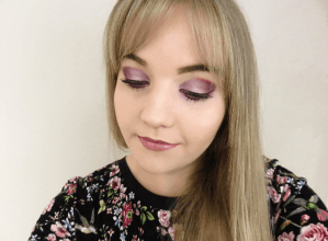 Easy Purple Eye Makeup