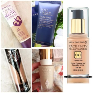 5 Favourite Full Coverage Foundations   Collab
