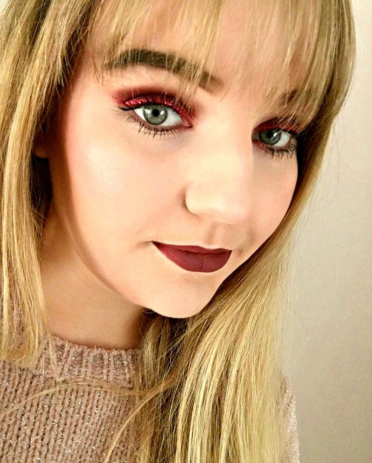 Christmas Eve Makeup Look