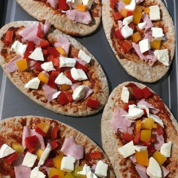 healthy pizzas
