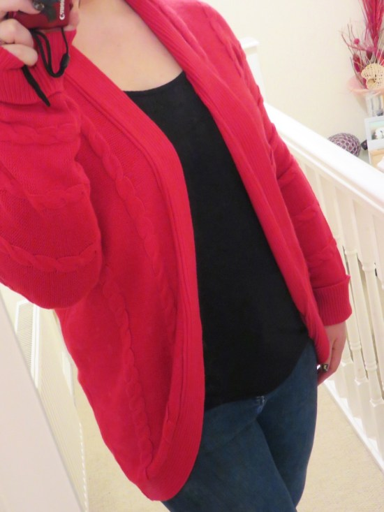 Knit cardigan - autumn fashion