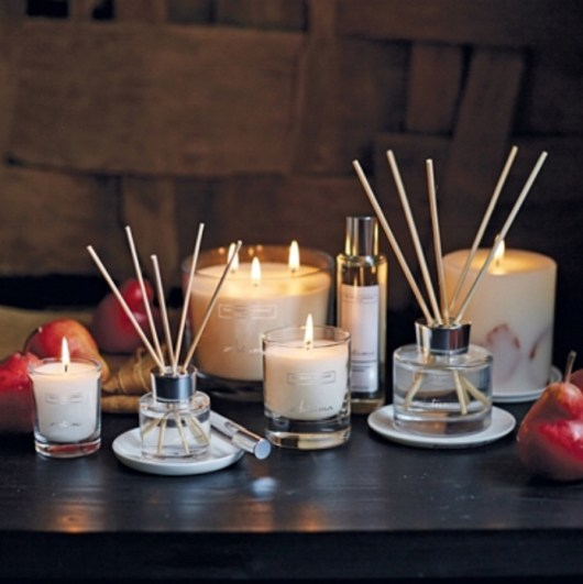 The white company candle