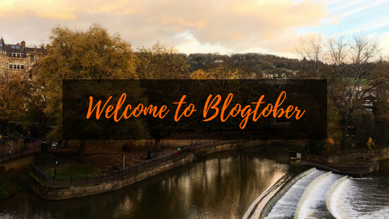 Welcome to Blogtober 2018!