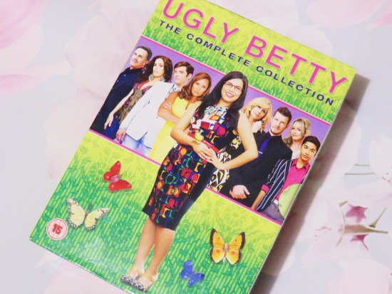 Ugly Betty dvds - what I got for my birthday