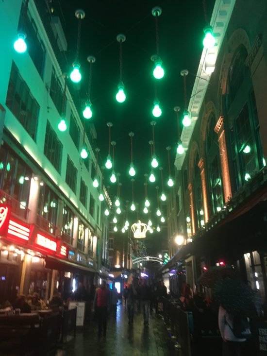 Carnaby Street, birthday weekend