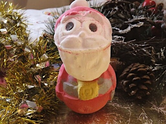 Santa Bomb Bomb - Lush Christmas