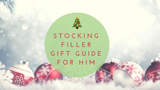 Stocking filler gift guide for him