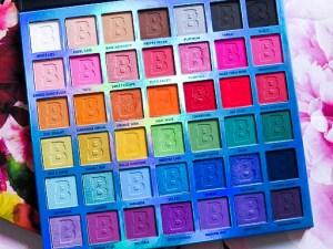 Beauty Bay EYN Bright 42 Colour Palette Review