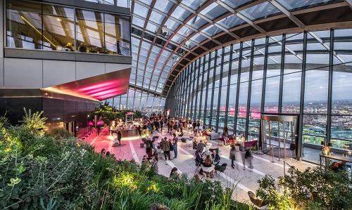 Sky garden London bucket list