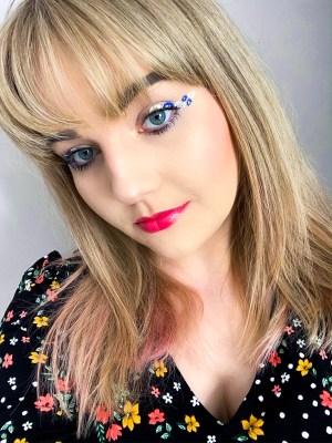 Spring Floral Eyeliner Tutorial