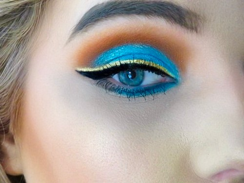 Aladdin Inspired Makeup