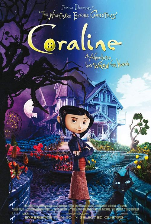 Coraline - Movies to watch this Halloween