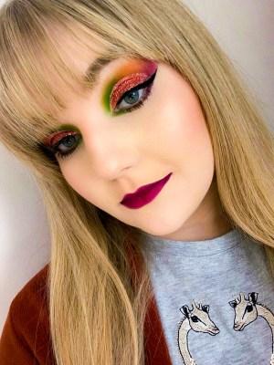 Auutmn Leaves Inspired Makeup Tutorial