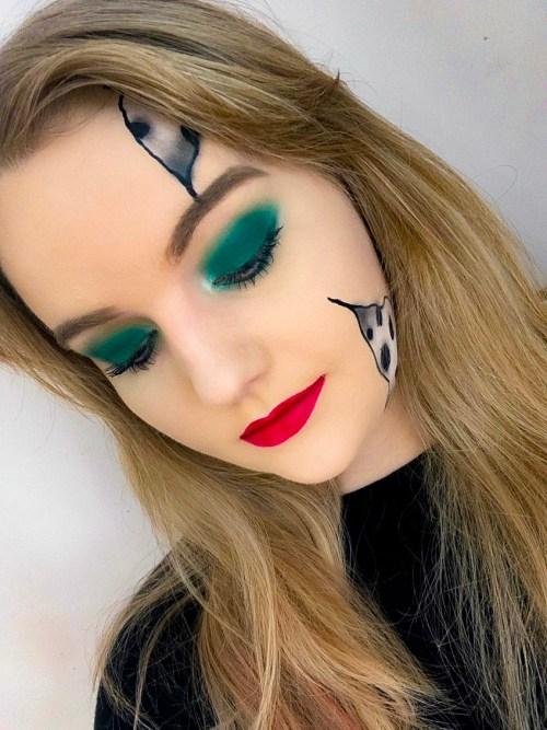 Cruella De Vil Inspired Makeup Tutorial