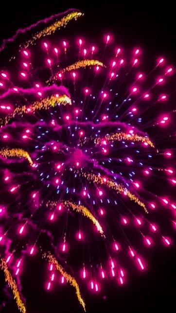 Yeovil Showground Firework Display