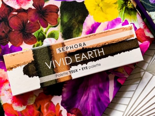 Sephora Vivid Earth Eyeshadow Palette
