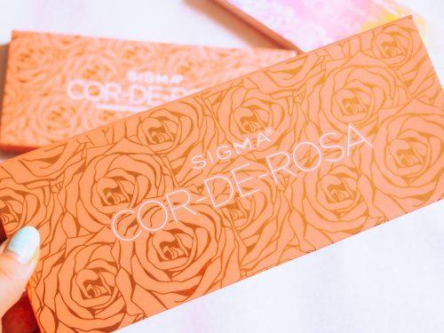 sigma cor de rosa palette