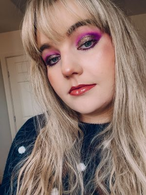 Holiday Season Festive Glam Makeup Look