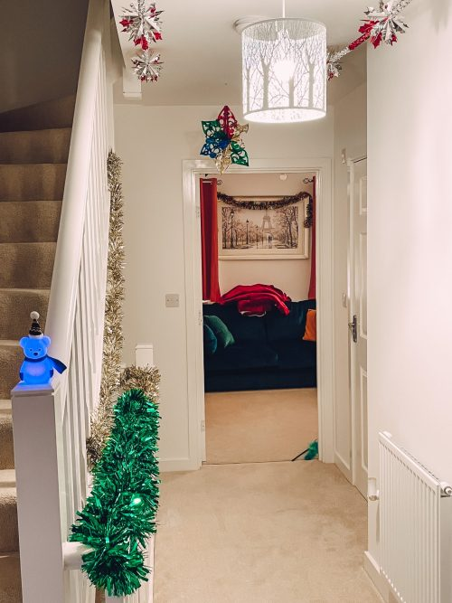 decorating our house for christmas