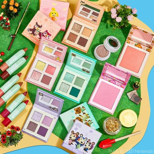 colourpop x animal crossing