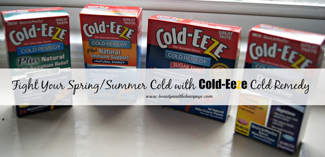 Fight Your Spring/Summer Cold with Cold-Eeze Cold Remedy