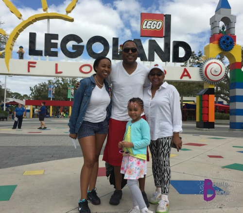 Family at Legoland Florida