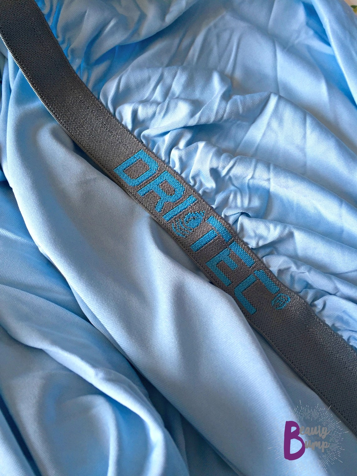 Bedgear Baby Performance Fitted Crib Sheet powered by DRI-TEC technology