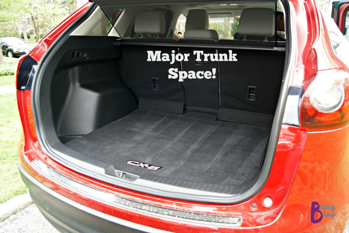 2016 AWD Mazda CX-5 Grand Touring Trunk Space