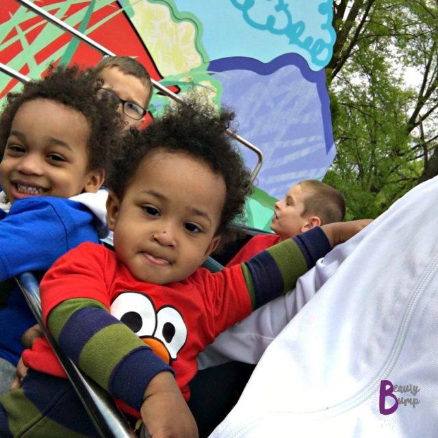 Boys Sesame Place Ride