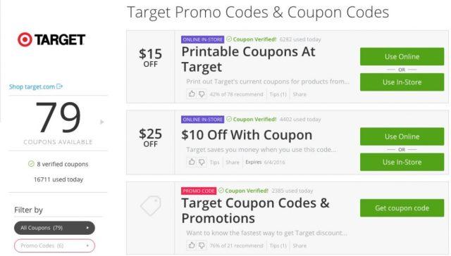 Groupon Coupons Target