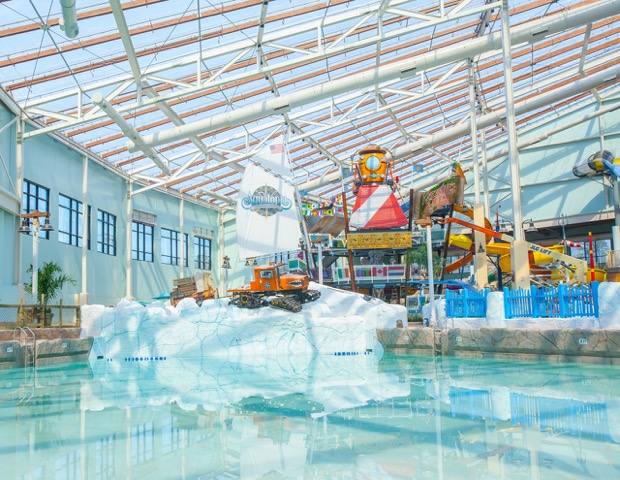 Camelback Resort Aquatopia Indoor Waterpark