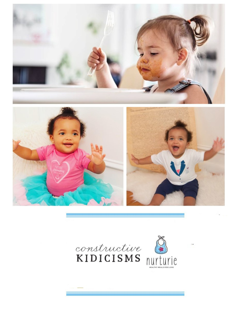 Constructive Kidicisms & kid-friendly meals by Nurturie
