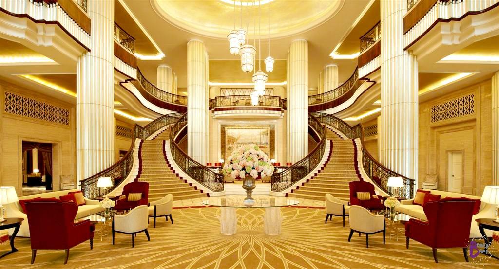 St. Regis Abu Dhabi Entrance Lobby