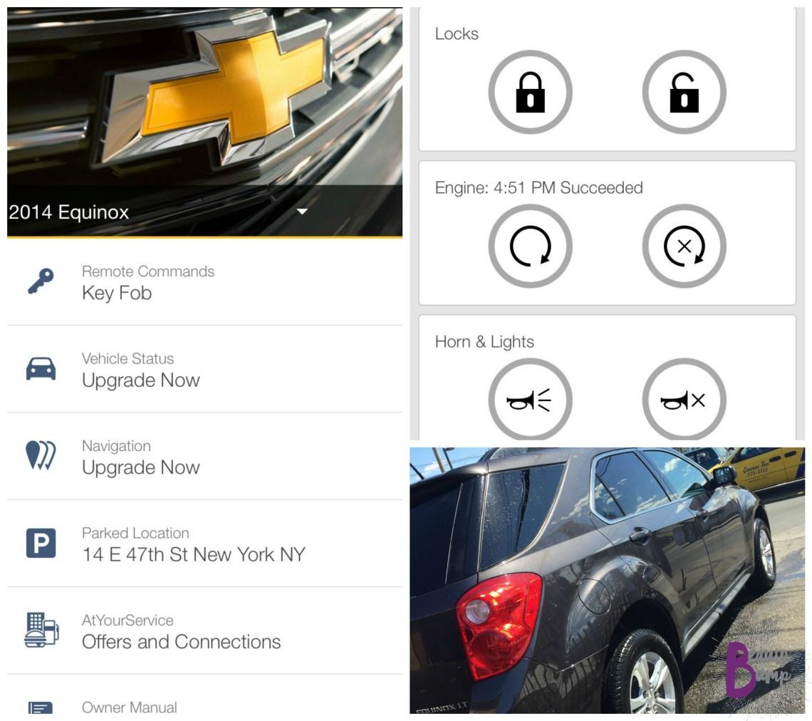 Chevrolet Equinox LT My Chevrolet App