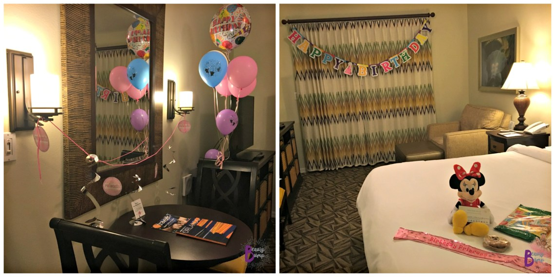 Hilton Grand Vacations Club at SeaWorld _Birthday Decorations