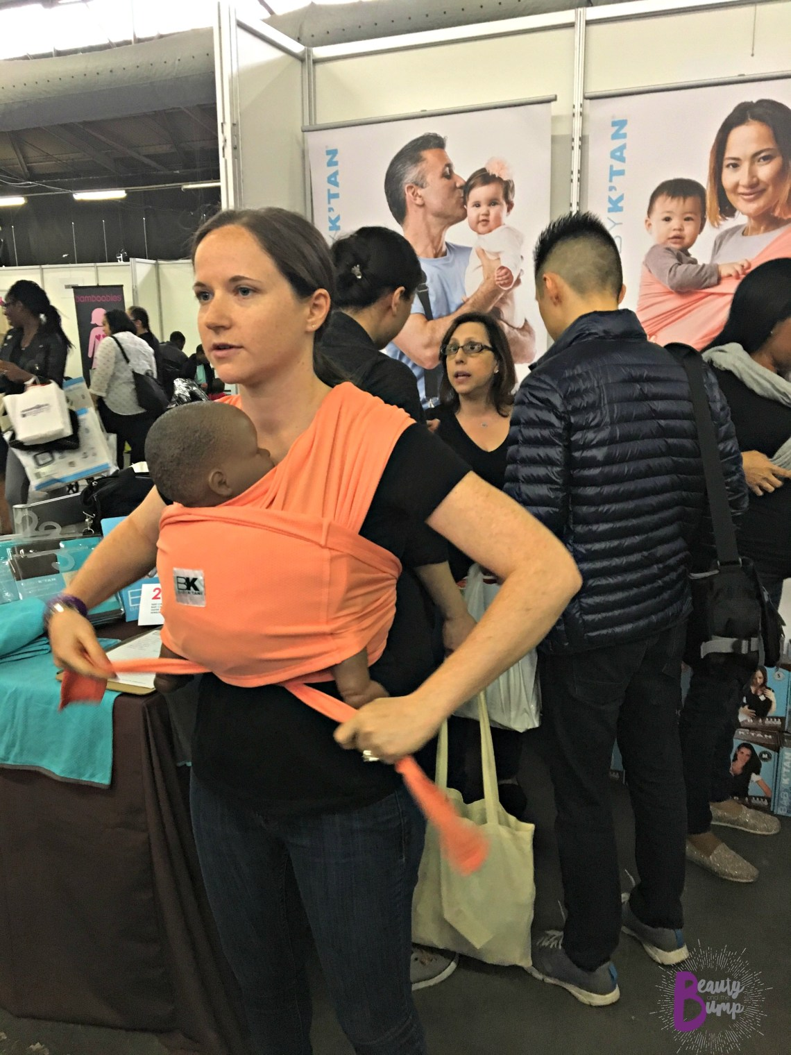 New York Baby Show Baby K'Tan