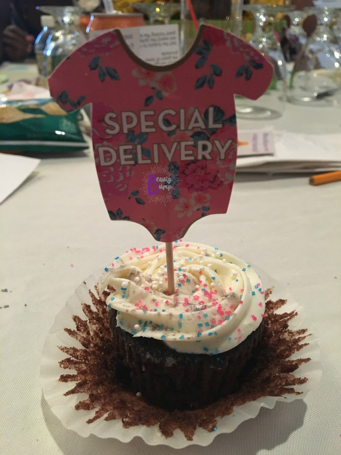 2017 Mitsubishi Outlander Sport LE AWC baby shower cupcake