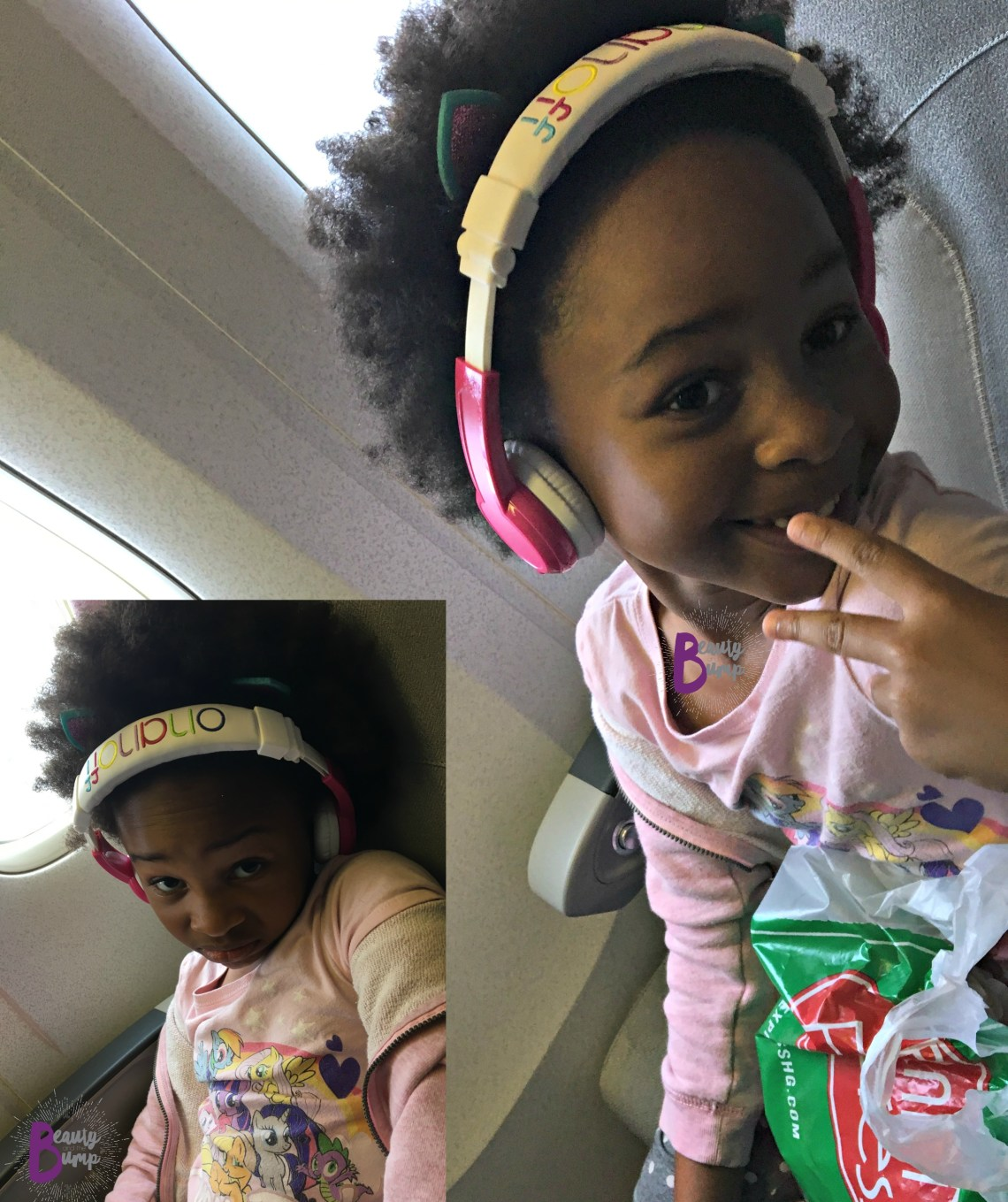 Buddyphones inflight long haul travel kids2