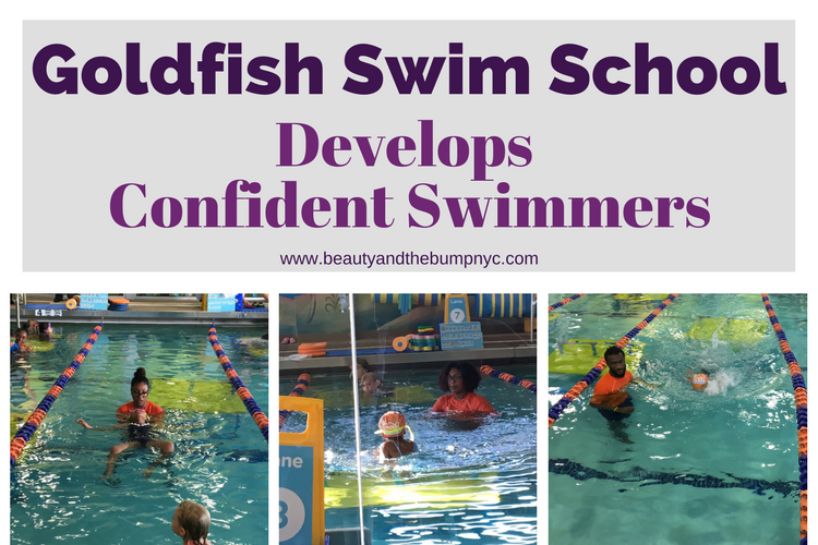 Goldfish Swim School Develops Confident Swimmers + Giveaway