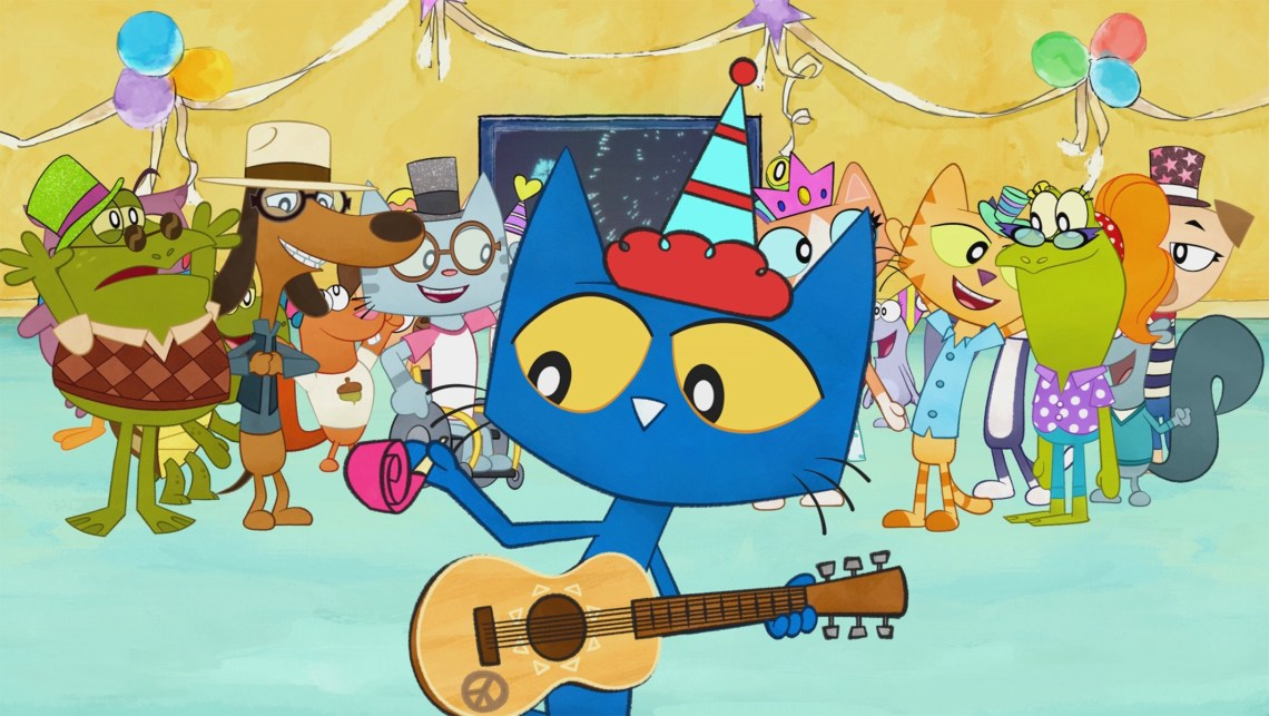 Amazon Prime Original Holiday Specials Pete the Cat: A Groovy New Year