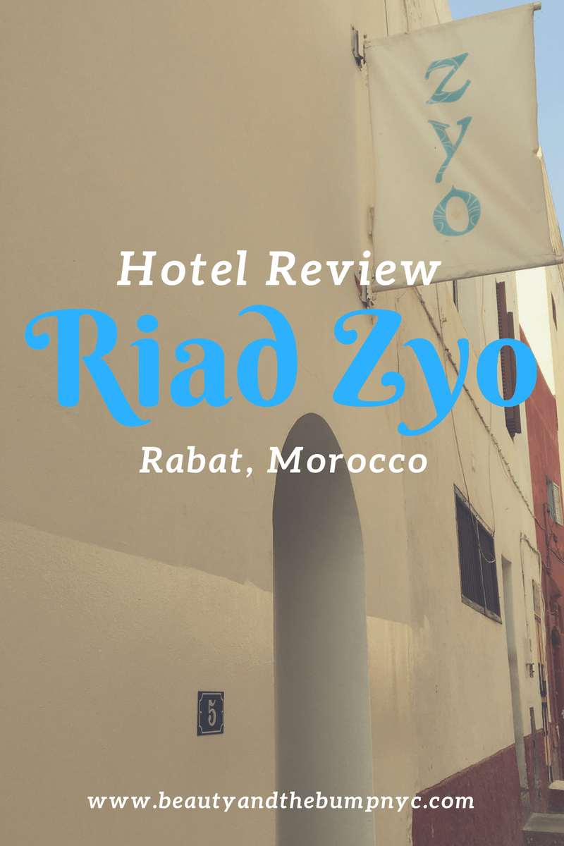 Hotel Review Riad Zyo