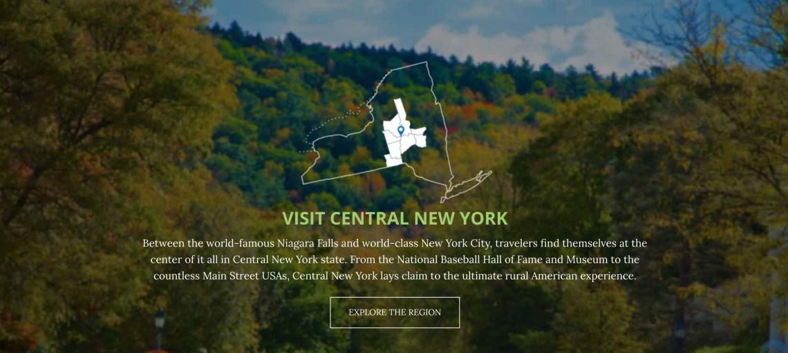 Visit Central New York Vacation Region