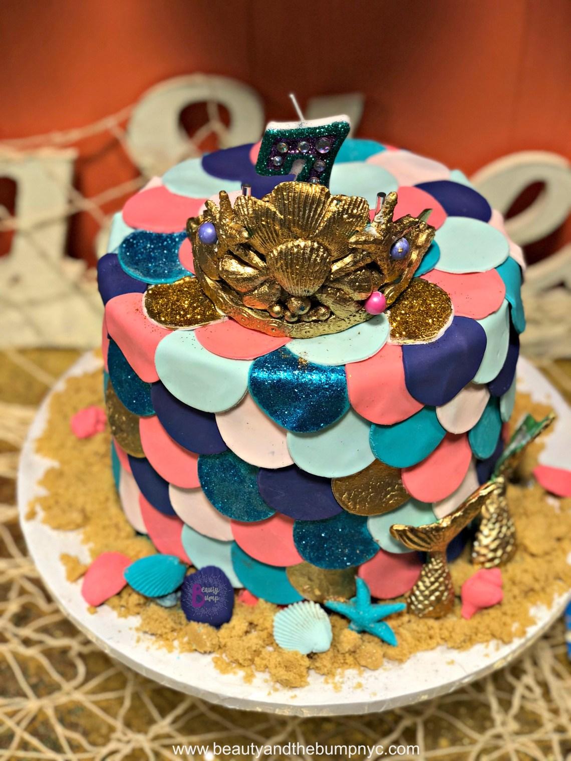 Cammies Cupcakes Mermaid Birthday Cake