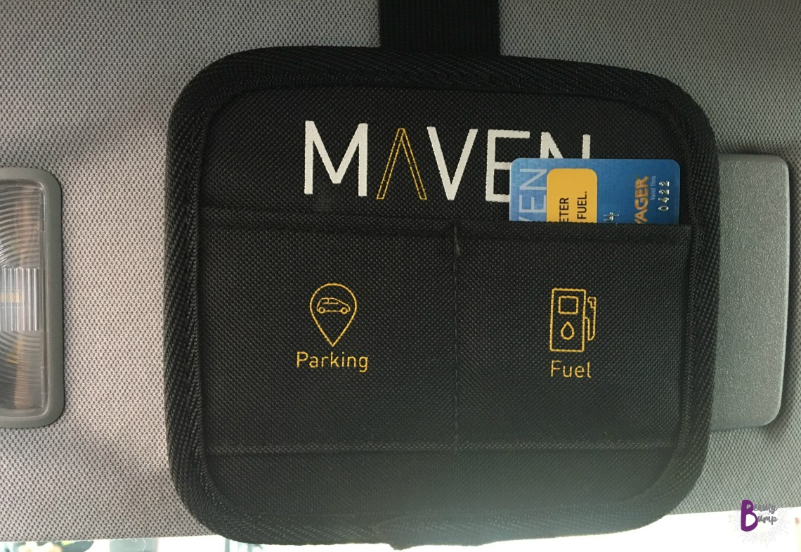 MAVEN Car Sharing Gas Card