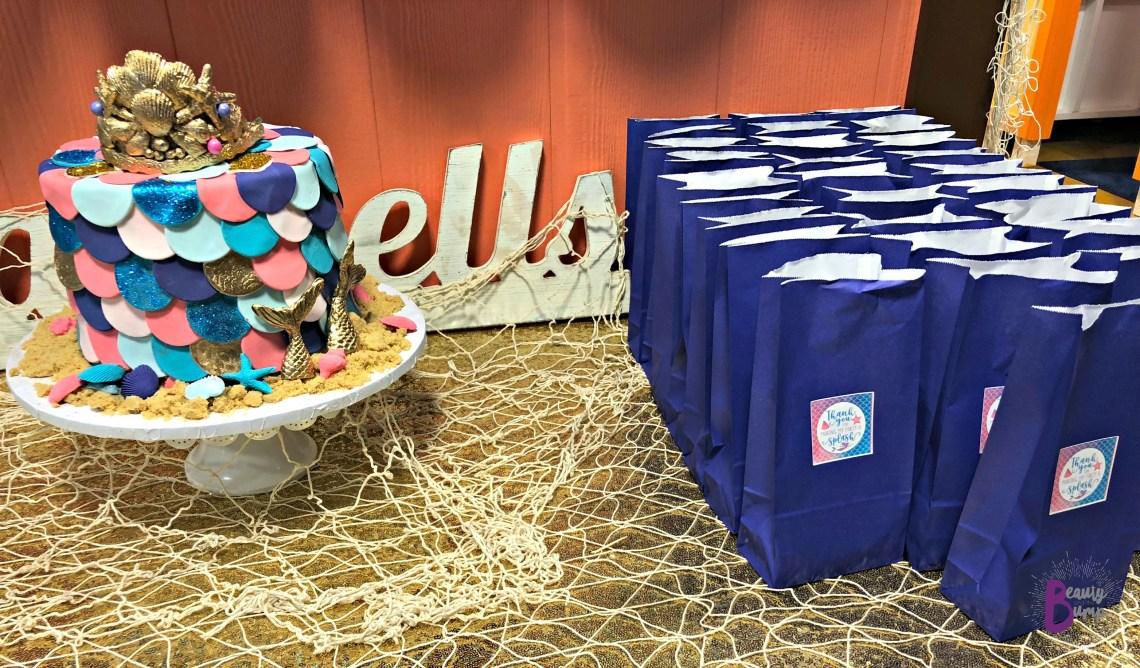 DIY Mermaid Party Bags