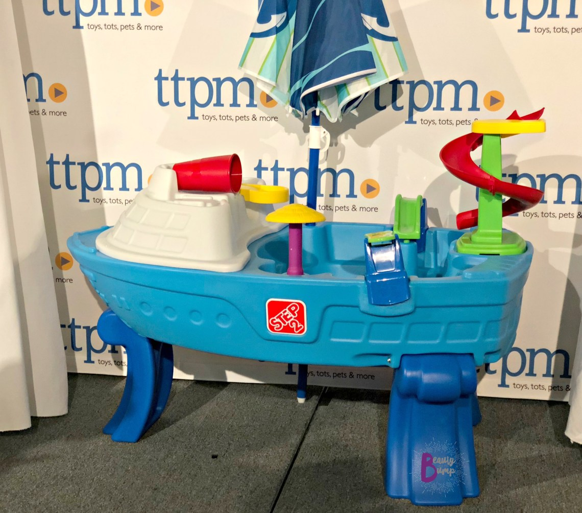 Step2 Fiesta Cruise Sand & Water Table with Umbrella